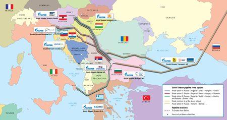 Austria resumes gas transit to Europe