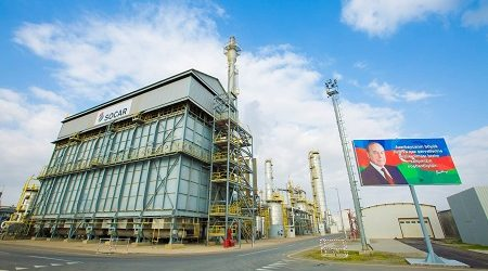SOCAR Plans to Produce 250 Thousand Tons of Methanol in 2017