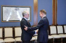 Алексей Миллер и Посол Германии Рюдигер фон Фрич рассмотрели вопросы сотрудничества в газовой сфере