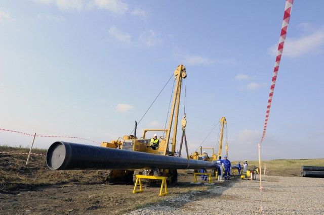 After Nabucco-West failure Romania starts work on gas pipeline to the Moldova