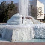 В Туркменистане мороз -20