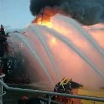 SOCAR сдала в эксплуатацию после ремонта первую скважину на сгоревшей платформе