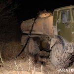 Qərbi Qazaxıstanda boru kəmərindən 62 ton neft oğurlanıb