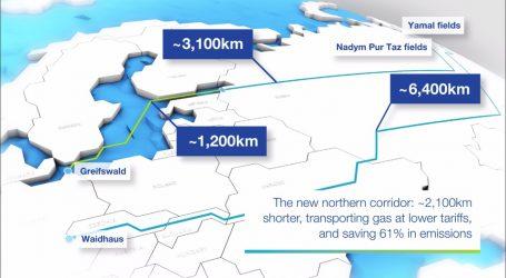 Тысяча километров «Северного потока 2» построена