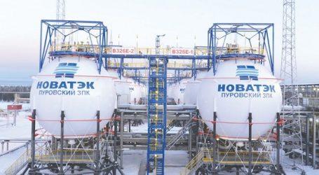 «Новатэк» в I квартале увеличил добычу газа на 2,2%