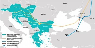 Rusiya Türkiyəyə boru kəmərinin inşası üçün müəssisə təsis edir