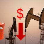 Oil prices went down at London goods market