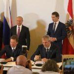 «Газпром» и австрийская OMV продлили контракт на поставку российского газа до 2040г