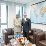 OPEC-in baş katibi Pərviz Şahbazovla görüşüb