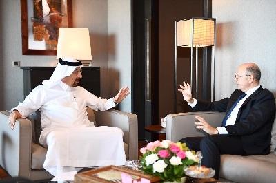 Energetika naziri OPEC-in baş katibi və Səudiyyə Ərəbistanından olan həmkarı ilə görüşüb