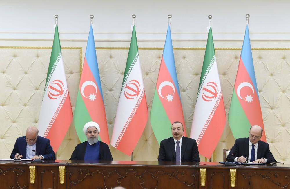Azərbaycan və İran Xəzər dənizində müvafiq blokların birgə işlənilməsi haqqında Anlaşma Memorandumu imzaladı