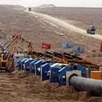 Цена газа для Китая впервые выросла с начала поставок