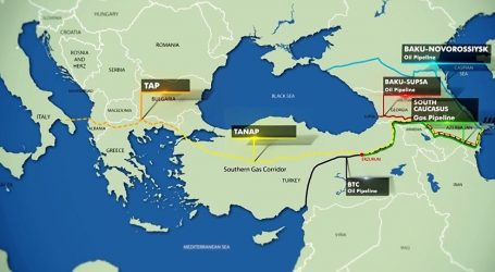 Начались тестовые испытания TANAP до европейской границы