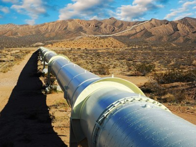 Two main gas pipelines connected in Kazakhstan