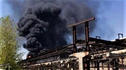 SOCAR: Возгорание на территории ПО «Азеркимья» не связано с производственным процессом