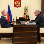 Путин провел встречу с главой «Роснефти»