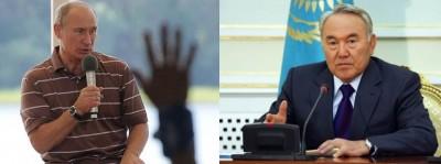 """Путин: """"Казахстан никогда не был государством"""" Назарбаев: """"Казахстан имеет право отказаться от ЕЭС"""""""