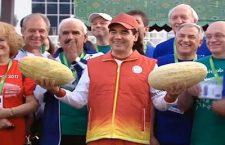 Prezident Yemiş bayramında – Foto