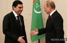 President of Turkmenistan Starts Working Visit to Moscow