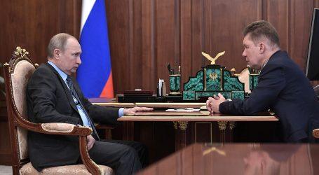 Глава Газпрома отчитался Владимиру Путину