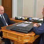 """Vladimir Putin """"LUKoil""""un prezidenti ilə görüşüb"""