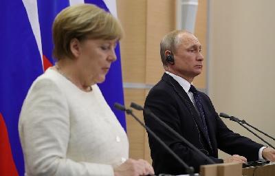 Путин и Меркель 18 августа обсудят «Северный поток — 2»