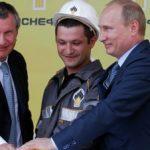 """Putin """"Rosneft"""" və  Exxon Mobil şirkətlərinin birgə layihəsi çərçivəsində qazmaya start verib"""