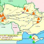 Oktyabrda Kiyev Avropadan 571,6 milyon kub metr qaz alıb