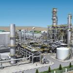 Строительство завода по производству карбамида близится к завершению