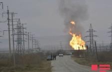Взрыв на газораспределительном узле SOCAR – video
