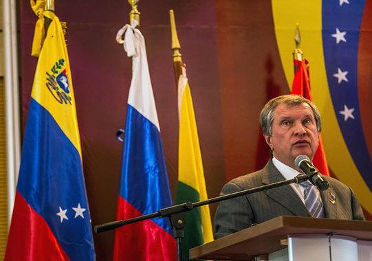 Russia's Rosneft wins gas licences in Venezuela