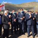 SOCAR Gürcüstanda daha bir kəndin qazlaşdırılmasını başa çatdırdı
