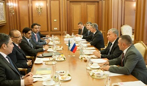 Igor Sechin holds working meeting with Khalid Al-Falih