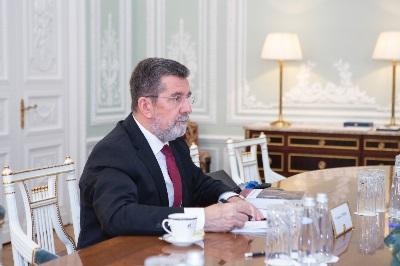 Alexey Miller and Serbian Ambassador note reliability of gas supplies to Serbia
