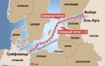 Иностранные компании решили финансировать Северный поток-2
