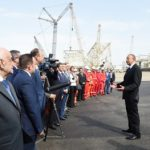 Support Block Sent to Sea for Shahdeniz-2 Production Platform