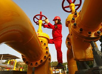 Китай вышел на шестое место в мире по добыче газа