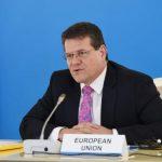 Шефчович 15 февраля в Баку примет участие в совете Южного газового коридора