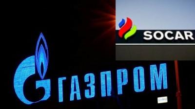 """SOCAR və """"Qazprom""""  Rusiya qazının Azərbaycana müvəqqəti svop tədarükünə başlayacaq"""