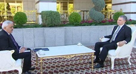 Türkmənistan prezidenti Rövnəq Abdullayevi qəbul edib