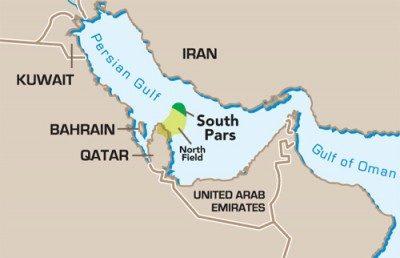 На платформе 14С иранского месторождения «Южный Парс» началось производство газа