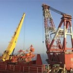 1st Offshore Platform of SP22-24 to be installed
