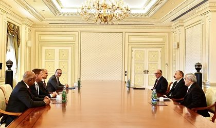 President Aliyev Discussed Future Cooperation with Management of Statoil
