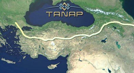 Ötən il TANAP-la 2,8 mlrd. kubmetr qaz nəql edilib