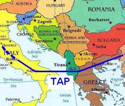 Italy approves TAP