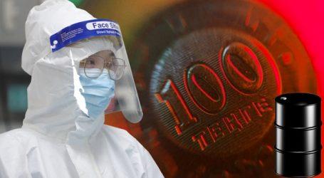 Тенге вновь подходит к отметке 420 из-за коронавируса и дешевеющей нефти