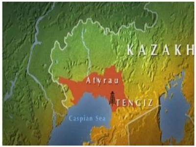 2015-ci ildə Tengiz yatağında 27.1 milyon ton neft hasil edilib