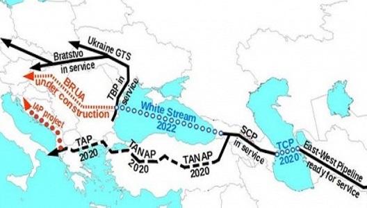 Грузия продвигает туркменский газ вЕвропу