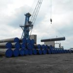 Hopa limanına indiyədək TANAP üçün 16 gəmi ilə 2603 boru daşınıb