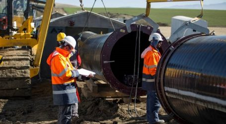Almost 1 billion cubic meters of gas supplied to Turkey via TANAP